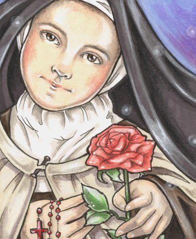 Resultado de imagem para sta terezinha das rosas