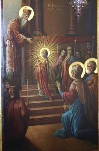 apresentação de Maria no templo (2)